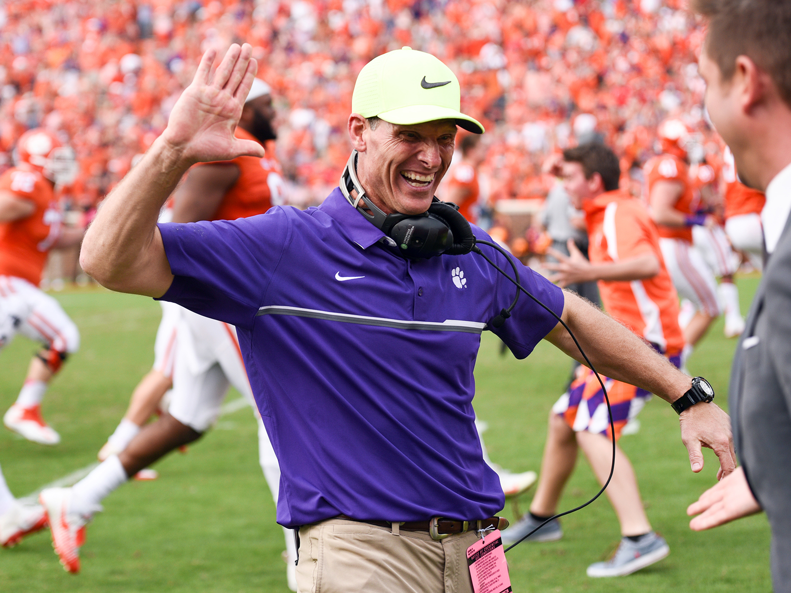 Clemson defensive coordinator Brent Venables is close friends with Texas Tech AD Kirby Hocutt.