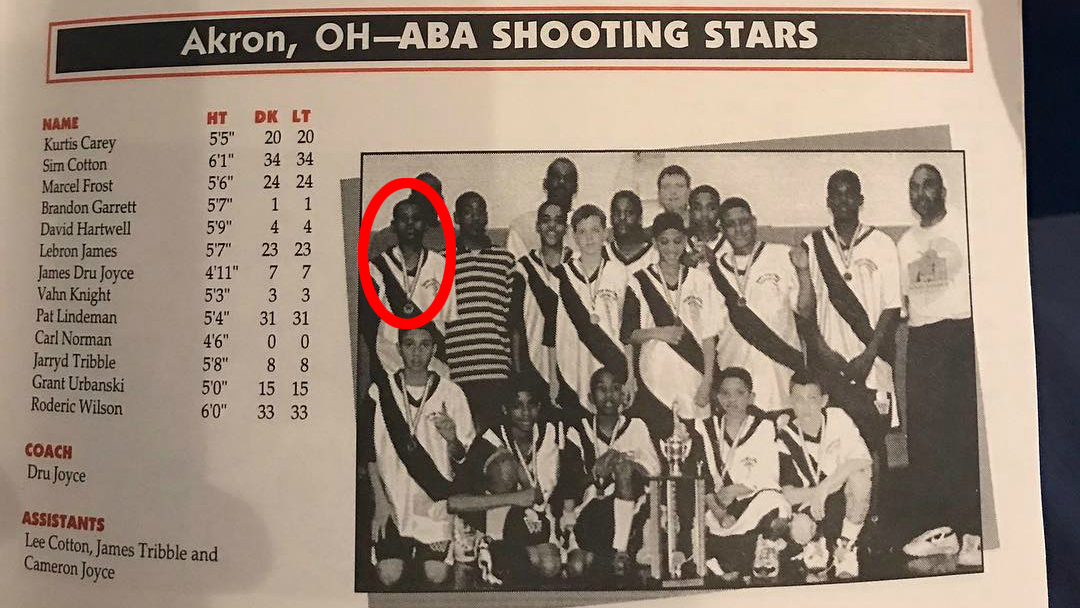 LeBron James, Chris Paul in same AAU program (photo)