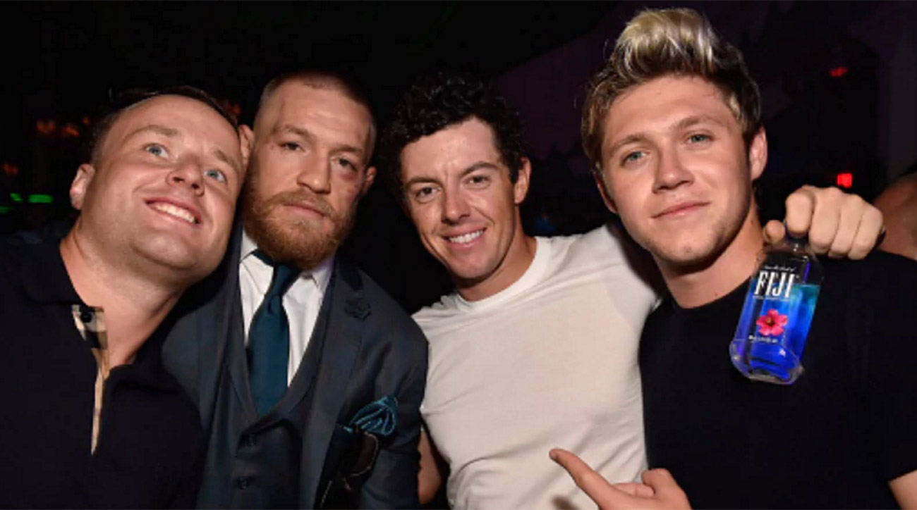 Rory hung out with Conor McGregor after McGregor's UFC 202 win.