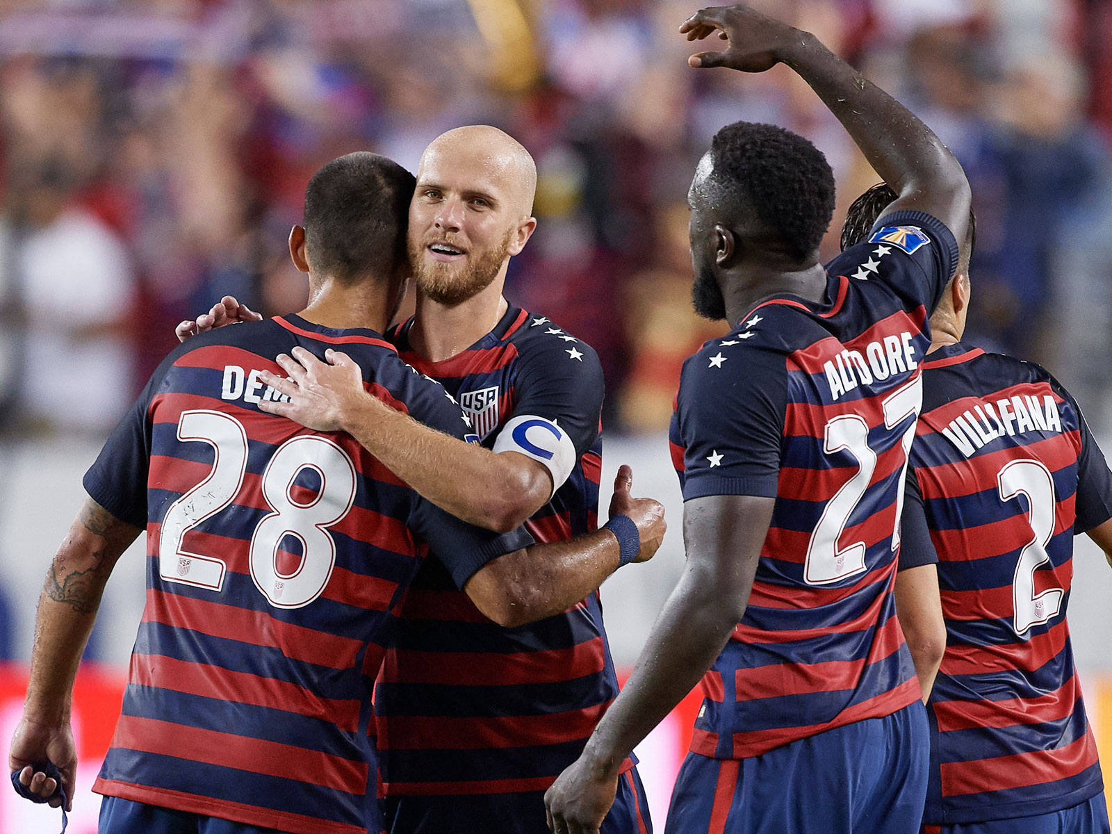Michael Bradley, Jozy Altidore and Clint Dempsey lead the USA into World Cup qualifying
