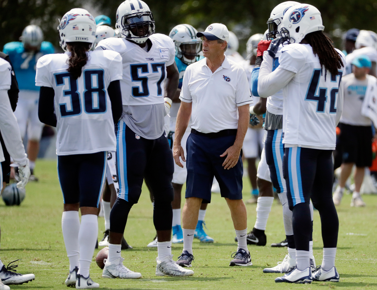 Following a 13-year playing career that ended in 1972, Dick LeBeau has coached in the NFL since 1973. The Titans are the sixth team he has worked for.