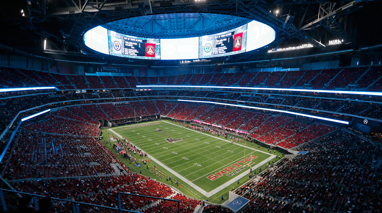 Mercedes-Benz Stadium will debut in the regular season during Week 2 when the Falcons host the Packers for Sunday Night Football.