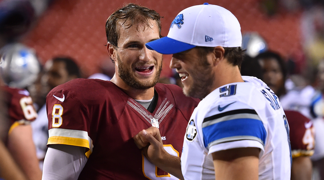 Now that Matthew Stafford's extension is complete, the next NFL quarterback in line for a massive contract could be Kirk Cousins. The Washington QB will be a free agent following the 2017 season.