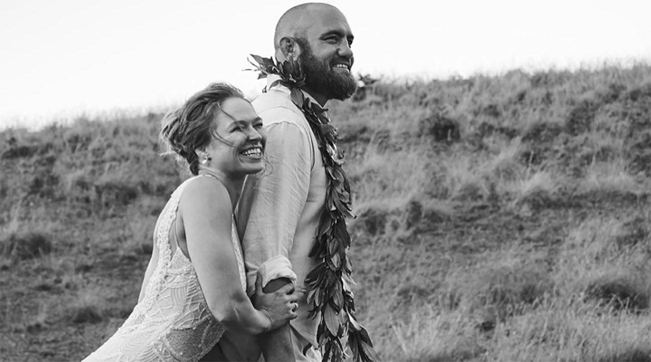 ronda rousey married wedding photos