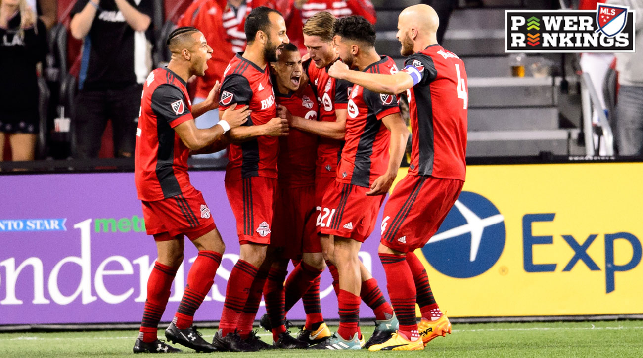Toronto FC continues its red hot streak in MLS