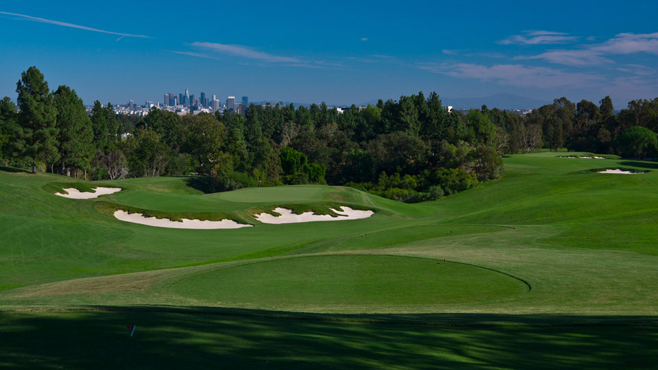 The North Course at Los Angeles Country Club in California.