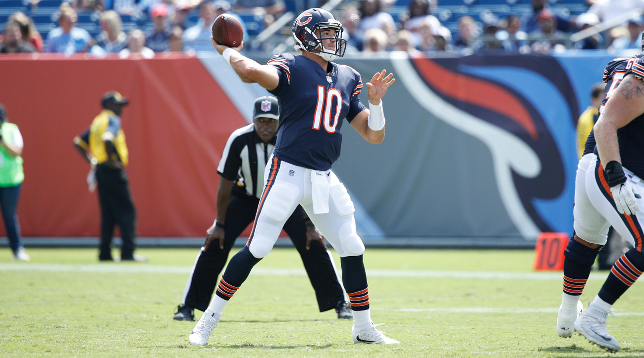 Rookie Mitch Trubisky has looked the part during his first preseason in the NFL.