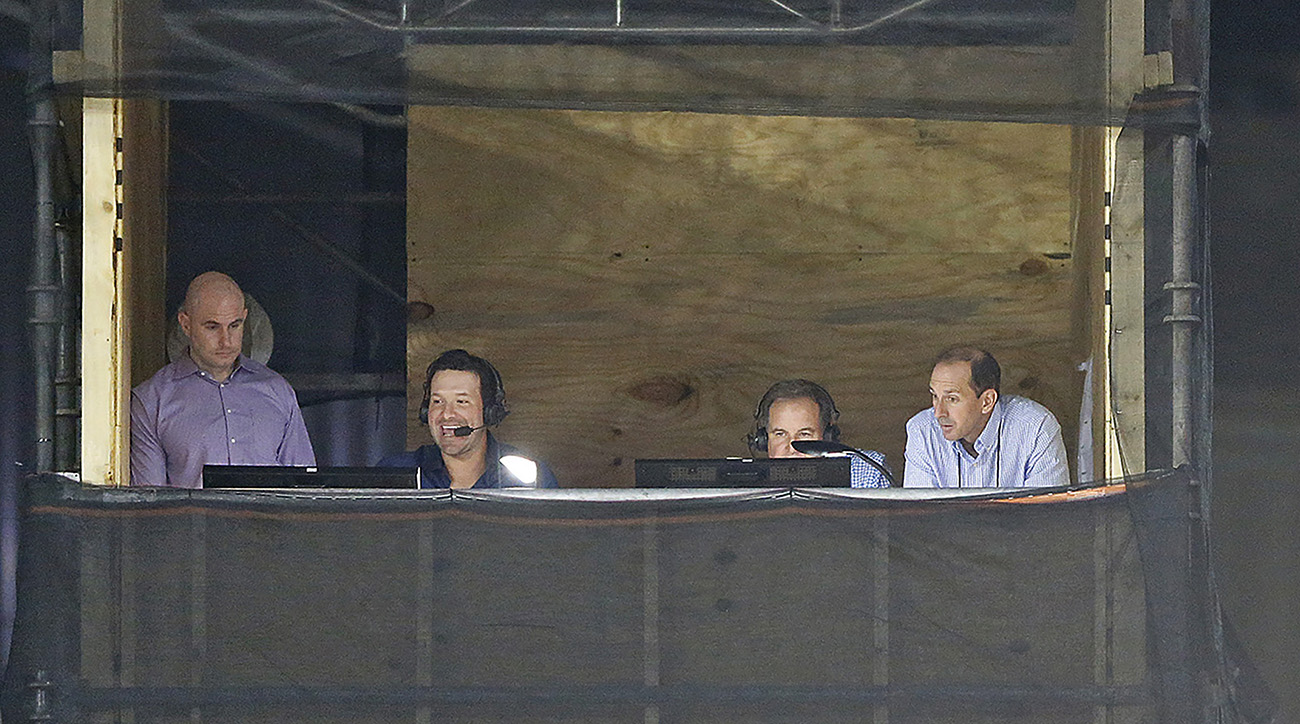 Romo and Nantz used the Hall of Fame game as practice.