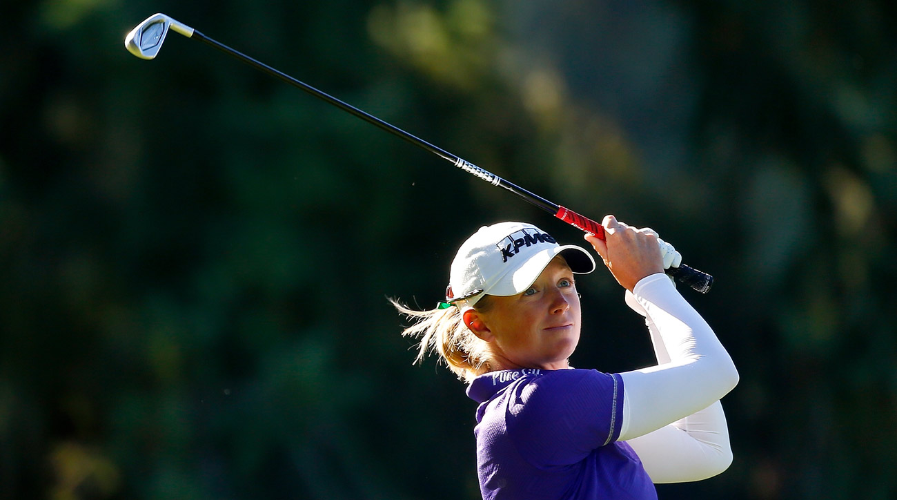 Stacy Lewis is giving her earnings this week to the Hurricane Harvey relief efforts. The 11-time LPGA Tour champion also is trying to win for the first time since 2014.