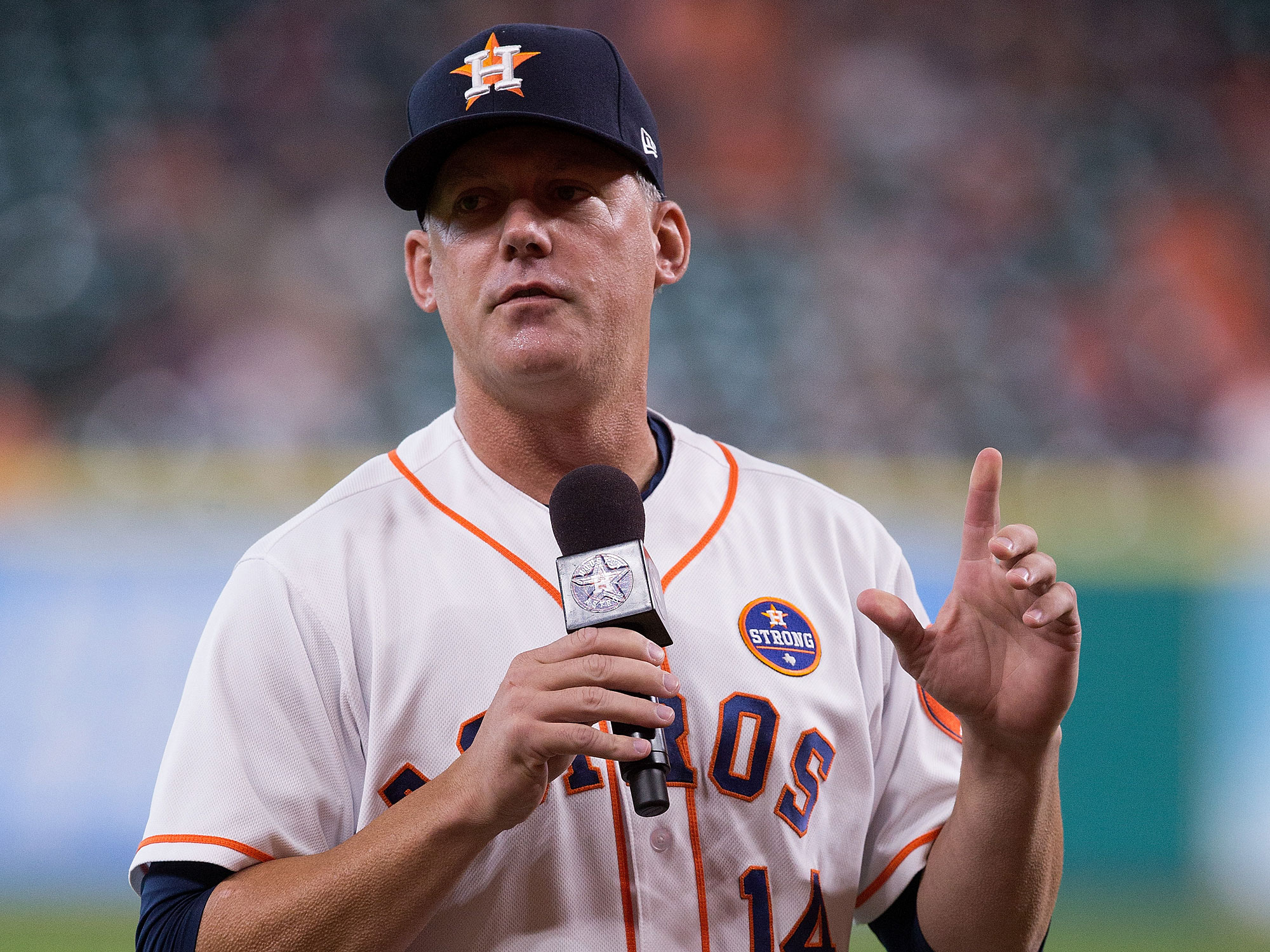 A.J. Hinch, Houston Astros