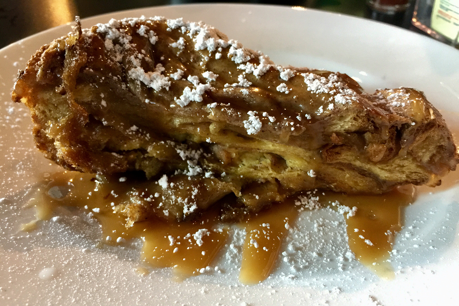 Challah French toast at Oy! in Atlanta.