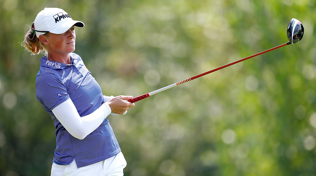 Stacy Lewis held a three-shot lead entering the final round, and she hung on late for a big victory.
