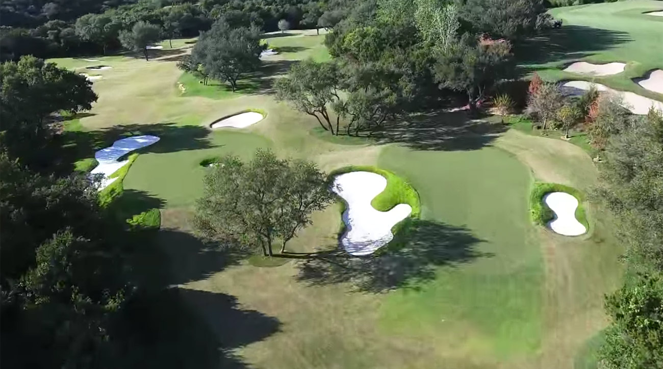 The Spieth Lower 40 offers six challenging par-3 holes.