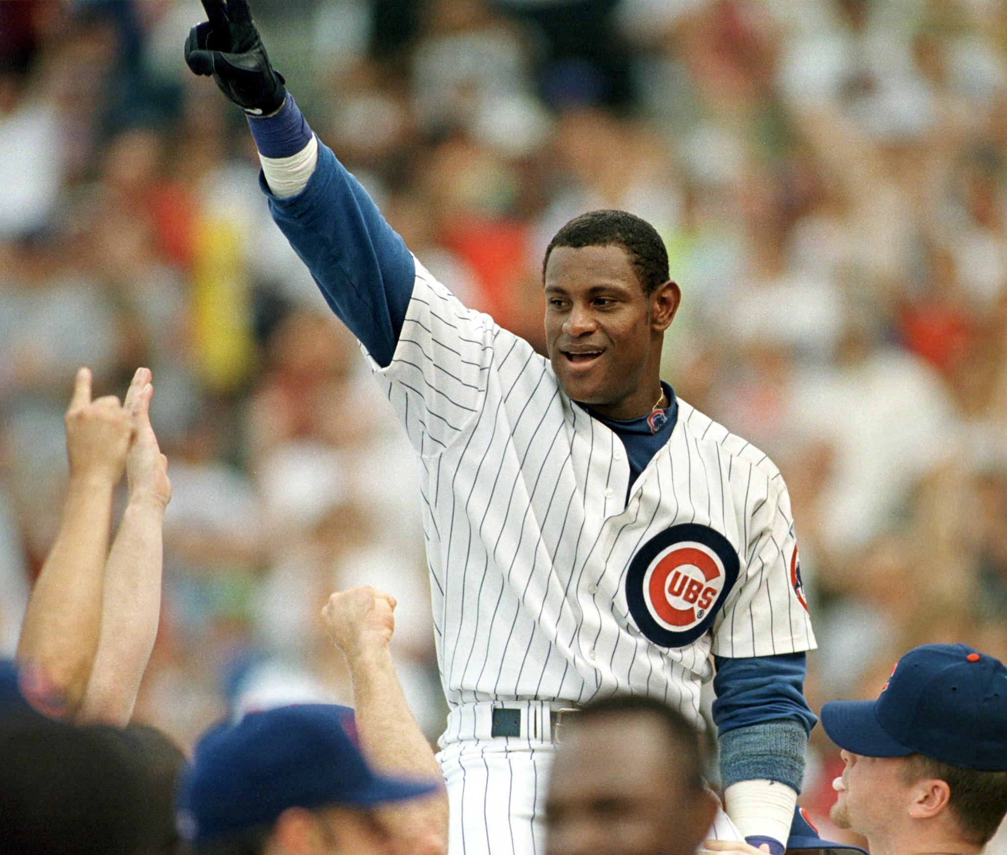 what team did sammy sosa play for