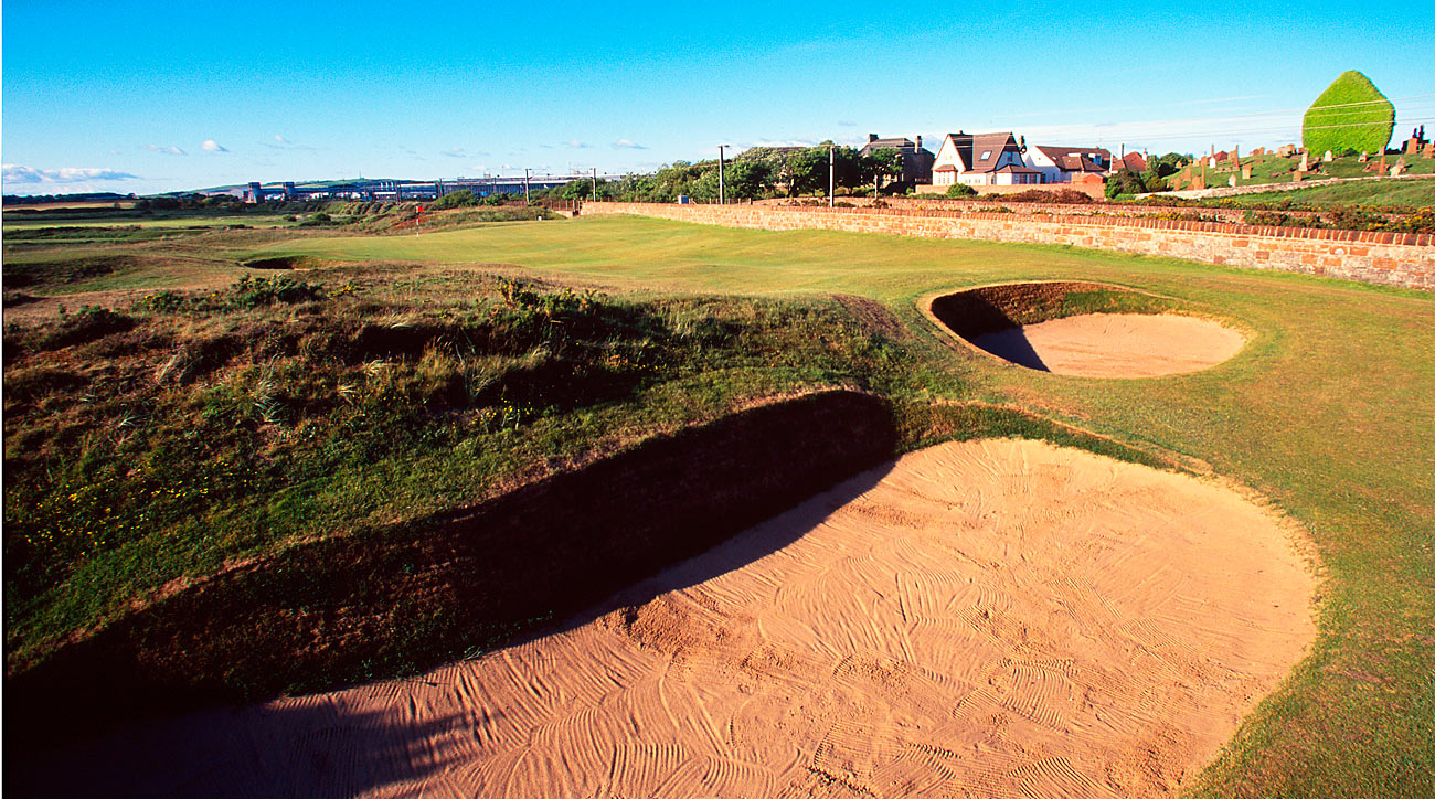 The opening hole at Prestwick.