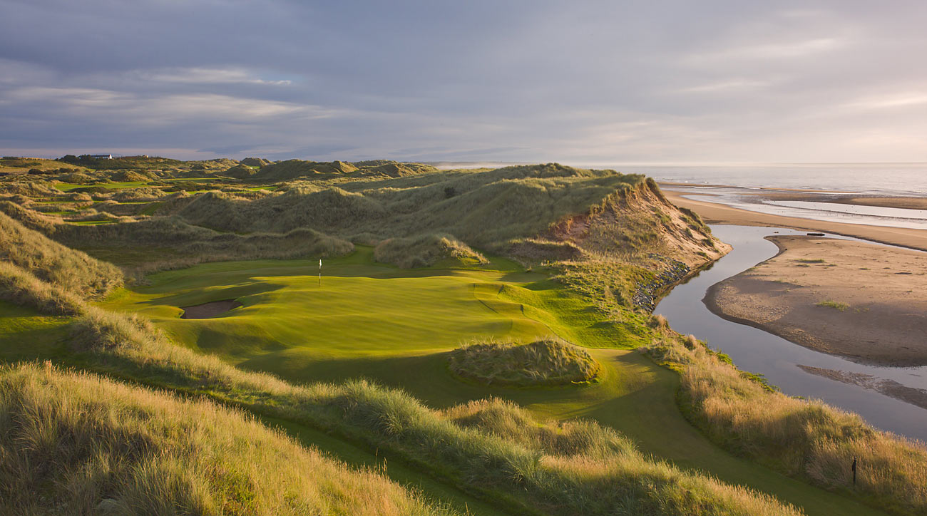 Trump International Golf Links in Aberdeen, Scotland, climbed two spots in our latest rankings, to No. 46 in the world.