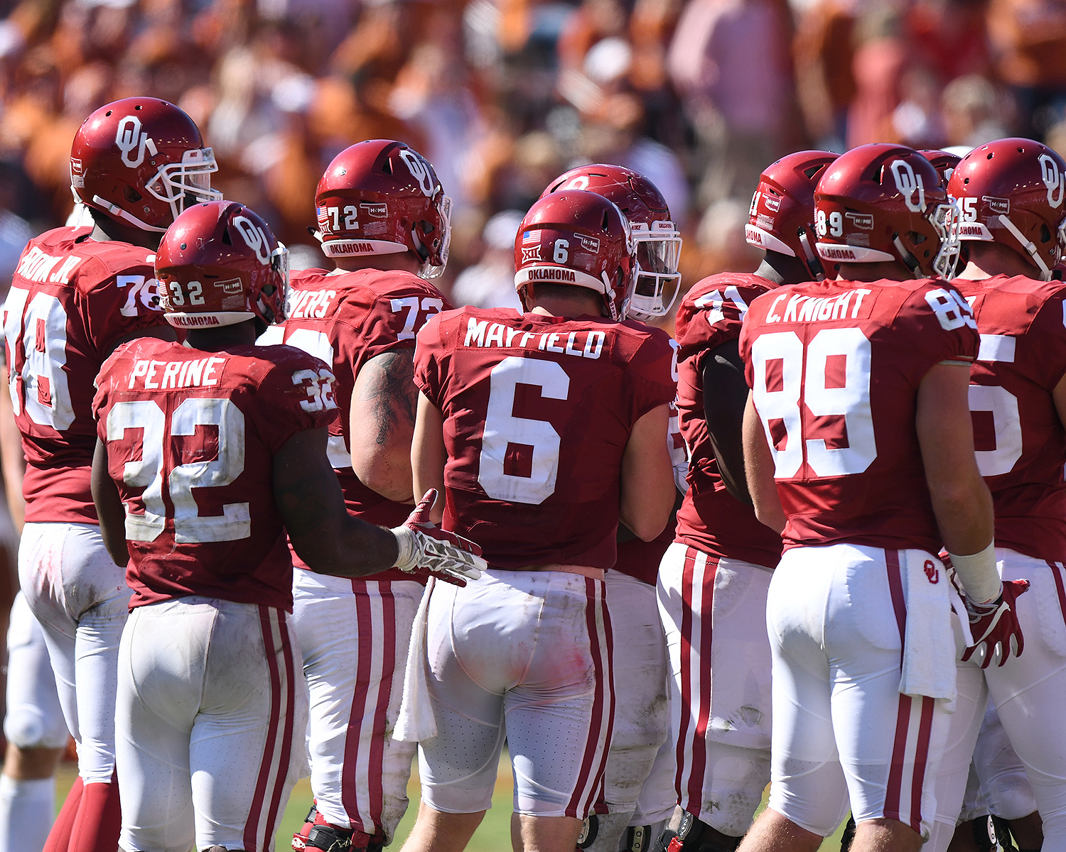 Brown (far left) still stands out among his teammates for his size, but he's found ways to control his weight.