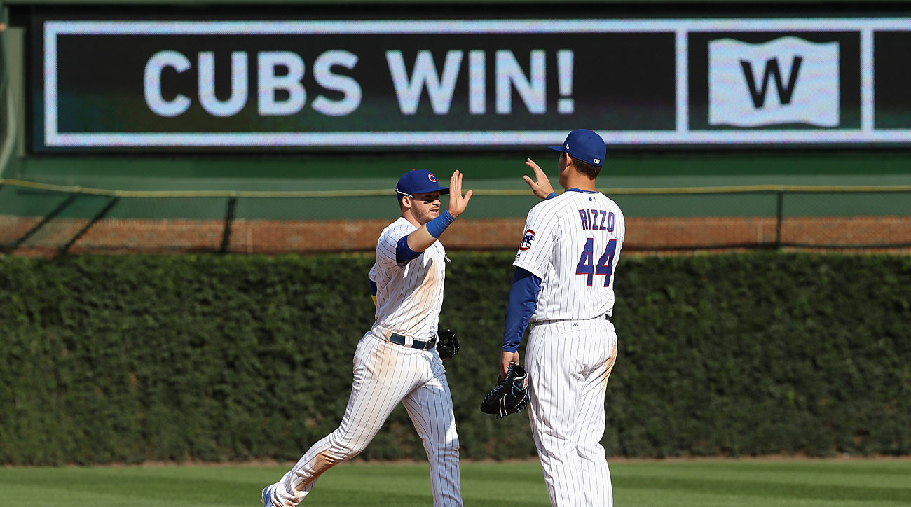 Ian Happ and Anthony Rizzo, Chicago Cubs
