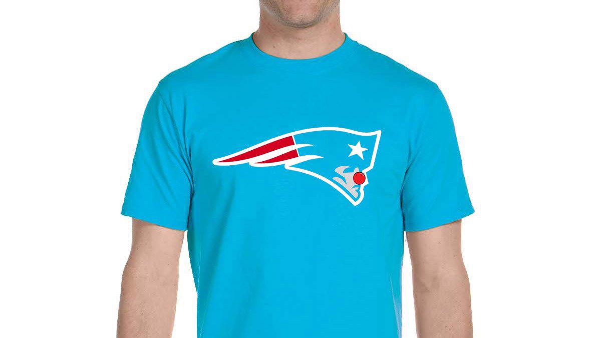 Patriots lose, Jets fans make clown T-shirt (photo)