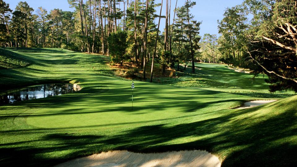 Spyglass Hill Golf Course in Pebble Beach, California.