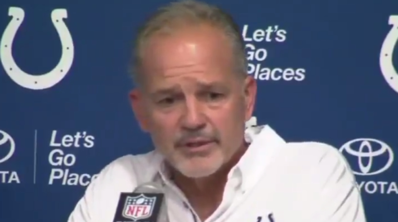 Chuck pagano says colts got beat by 49ers played rams si voltagebd Images