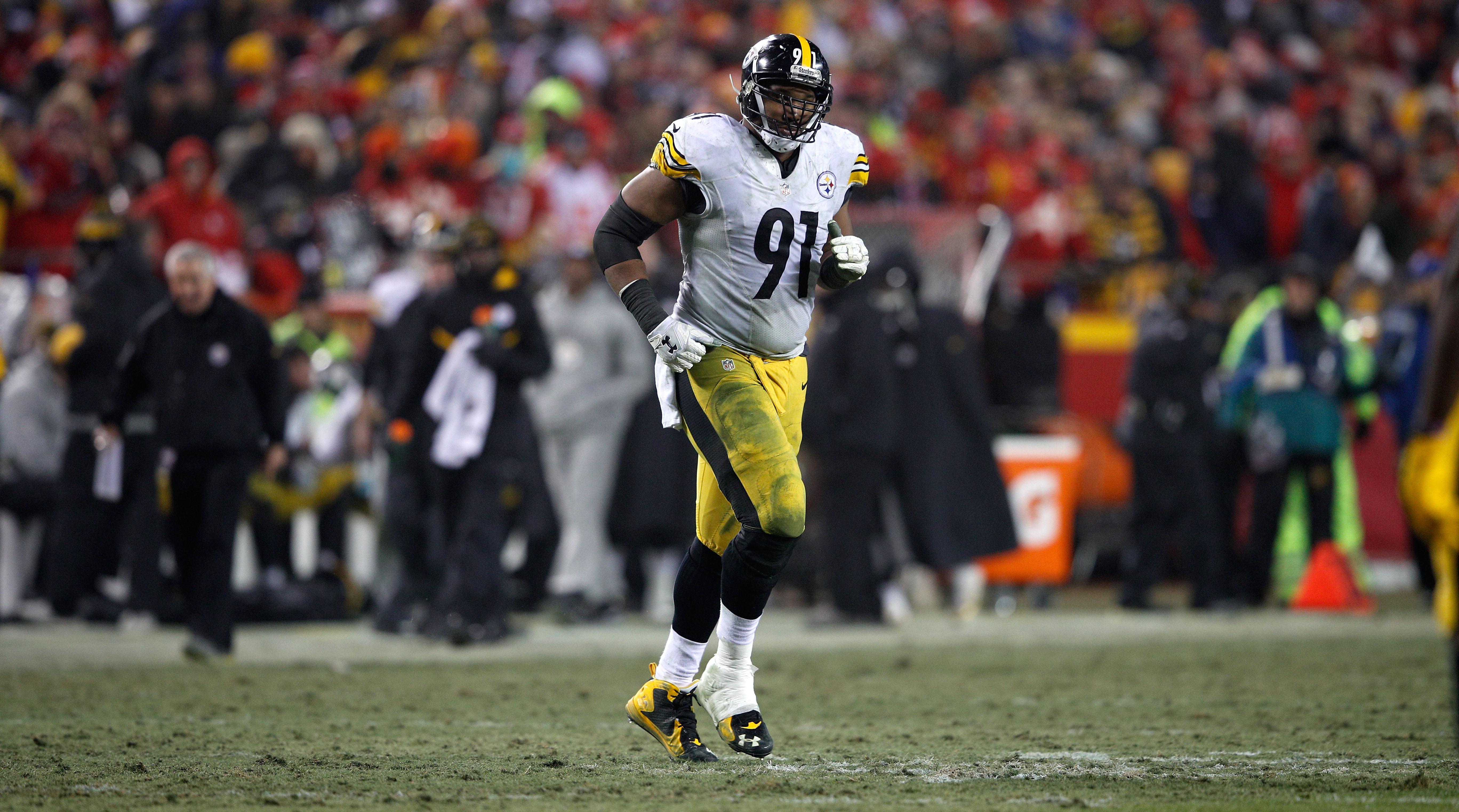 Stephon Tuitt injury Steelers concerned DE tore his biceps