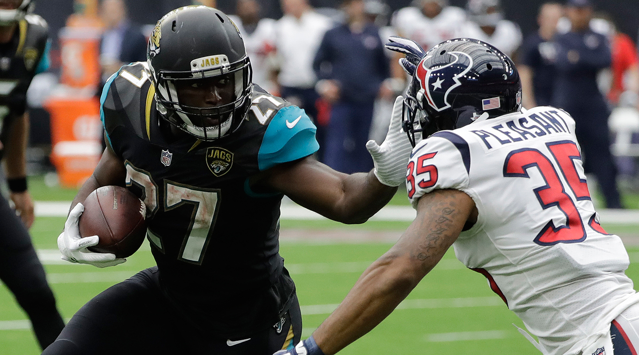 Leonard Fournette became the first Jacksonville running back to rush for 100 yards in his NFL debut.