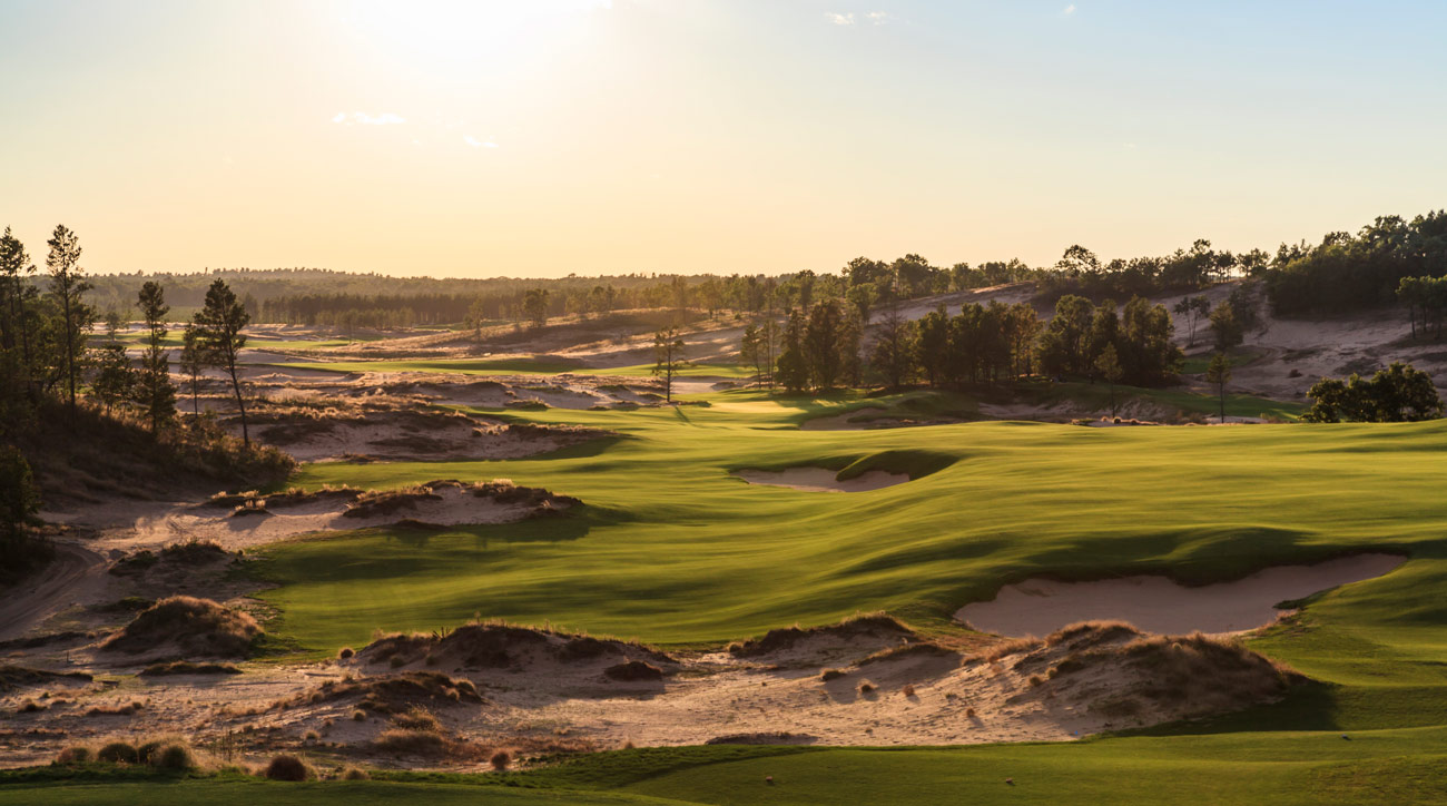 The 10th hole at Sand Valley Golf Resort.
