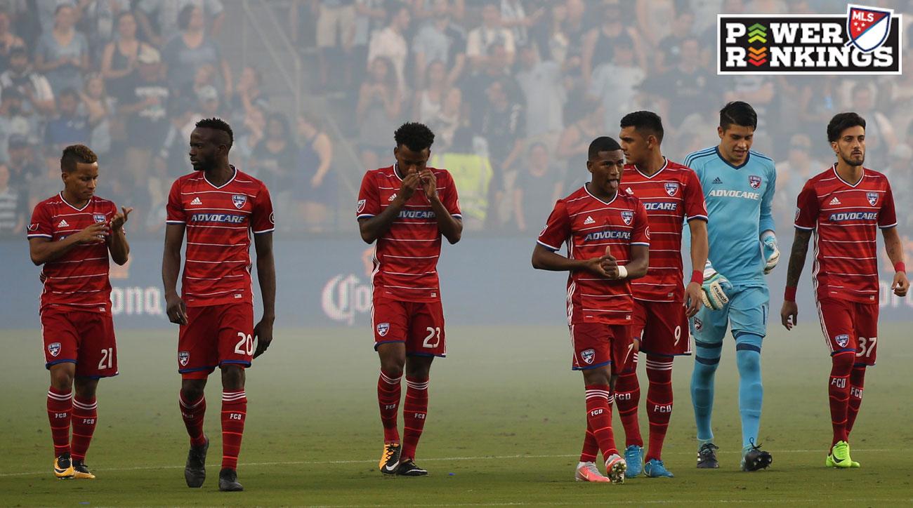 MLS Power Rankings Week 27: FC Dallas's Shocking Tumble Threatens Playoff Chances