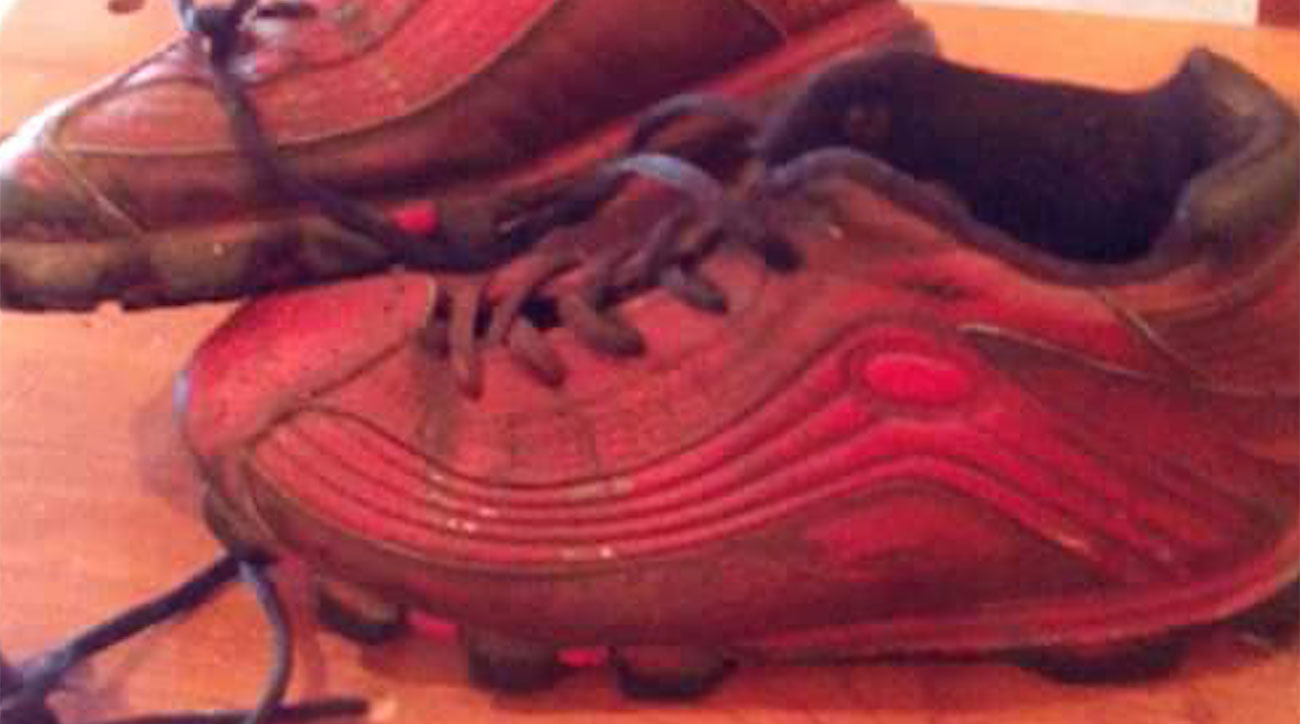 Ray Wank held on to Kareem Hunt's youth football shoes because he knew the running back was destined for greatness.