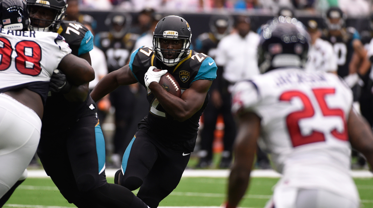 Leonard Fournette and the Jags played with physicality in their Week 1 win over the Texans.