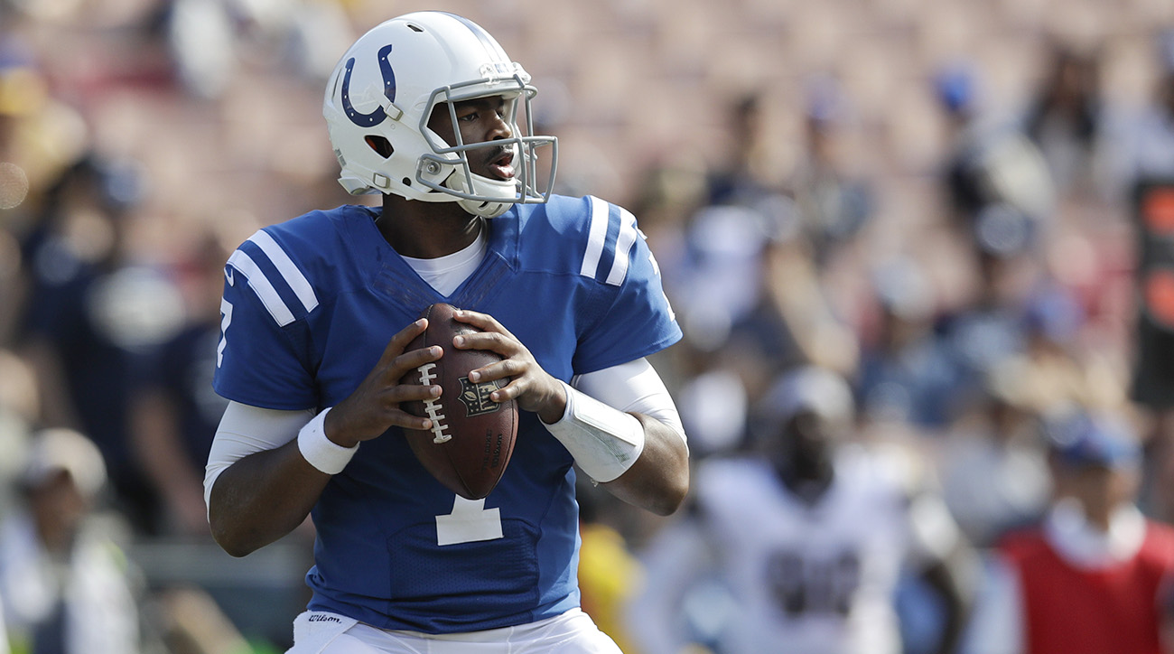 Jacoby Brissett To Start For Colts Against Cardinals
