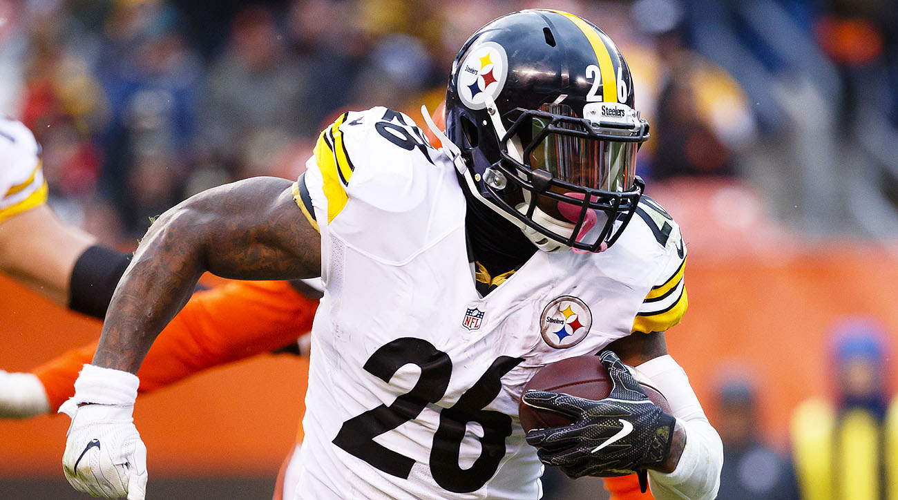 Steelers tailback Le'Veon Bell