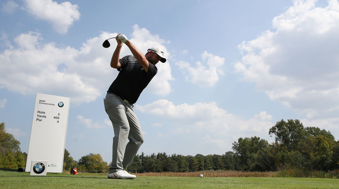 Leishman takes a five-shot lead to the final round at the BMW Championship.