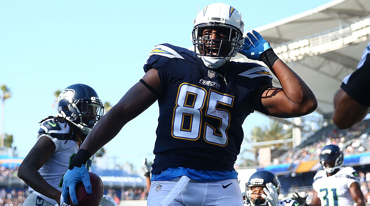 Antonio Gates sets touchdown record for tight ends