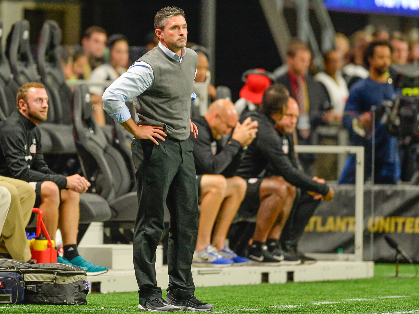 The New England Revolution fired manager Jay Heaps