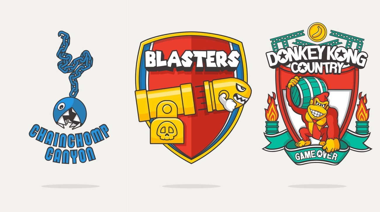 What Would Premier League Badges Look Like in the Mario Universe?
