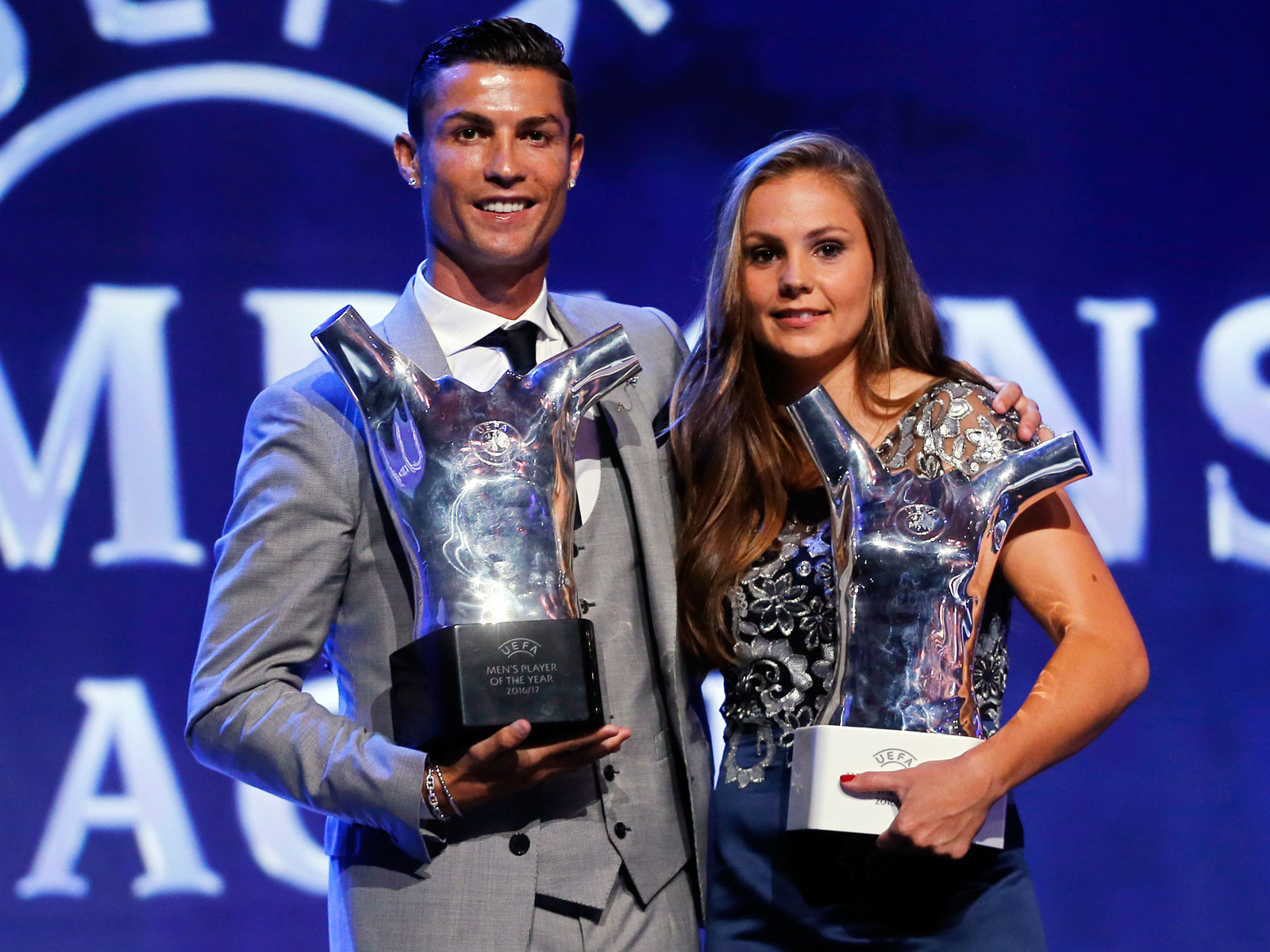 Cristiano Ronaldo and Lieke Martens are finalists for FIFA's men's and women's player of the year