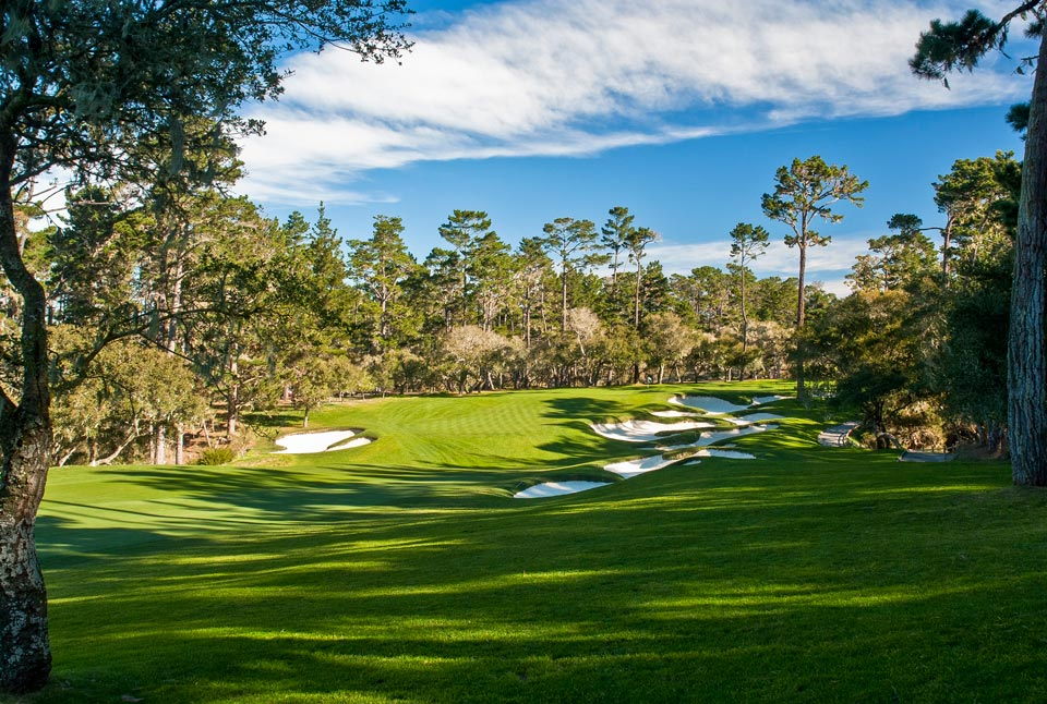 <p>Pebble Beach, Calif., Robert Trent Jones Sr., 1966</p><p>This Robert Trent Jones Sr. design has been one of the Tour's hardest layouts for nearly 50 years. Few have conquered its dune-flecked start nor its final 13 holes through the pines, except Phil Mickelson in 2005 and Luke Donald in 2006, when both posted astonishing 10-under-par 62s.</p>