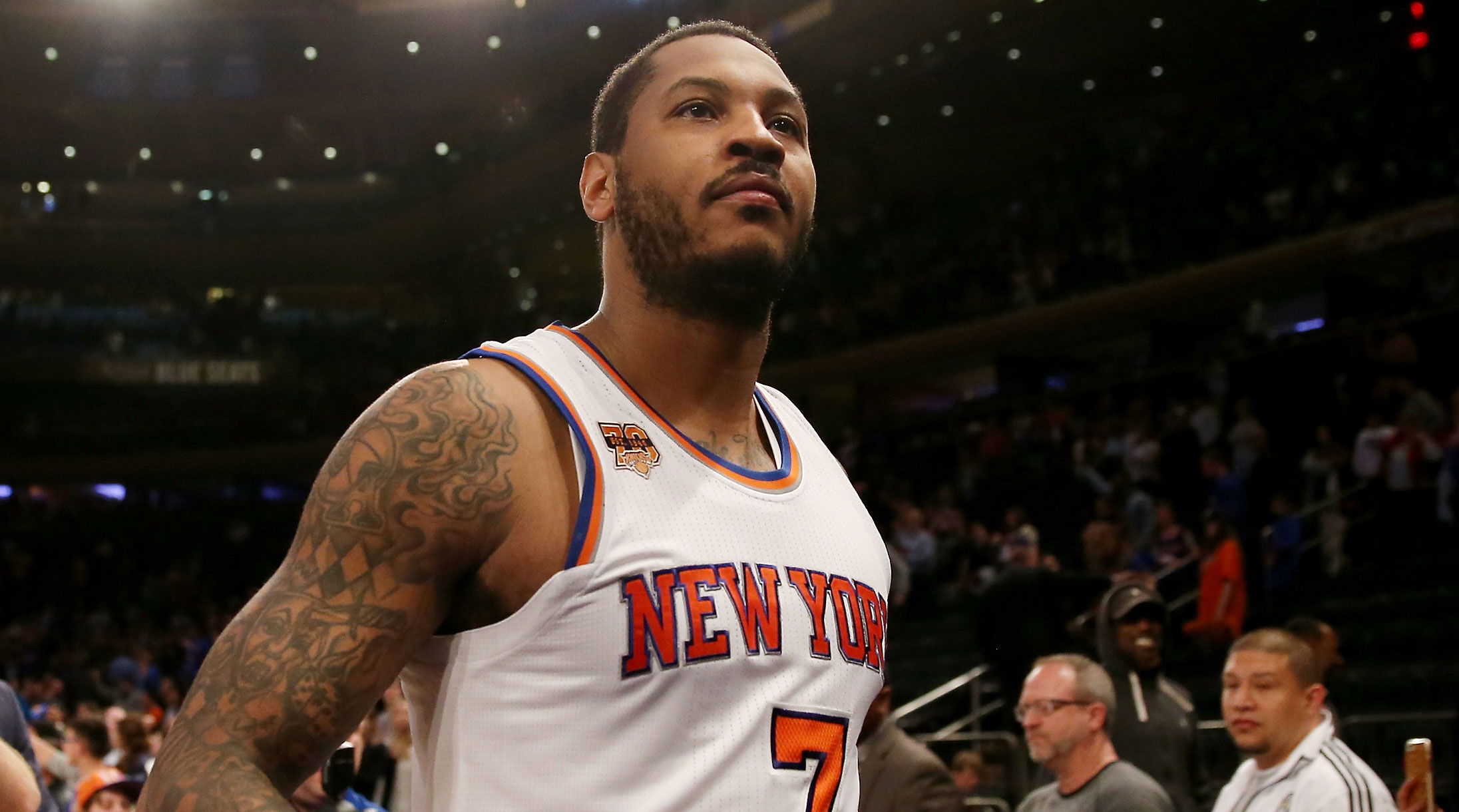 Carmelo Anthony Knicks saga ends with Thunder trade   SI.com