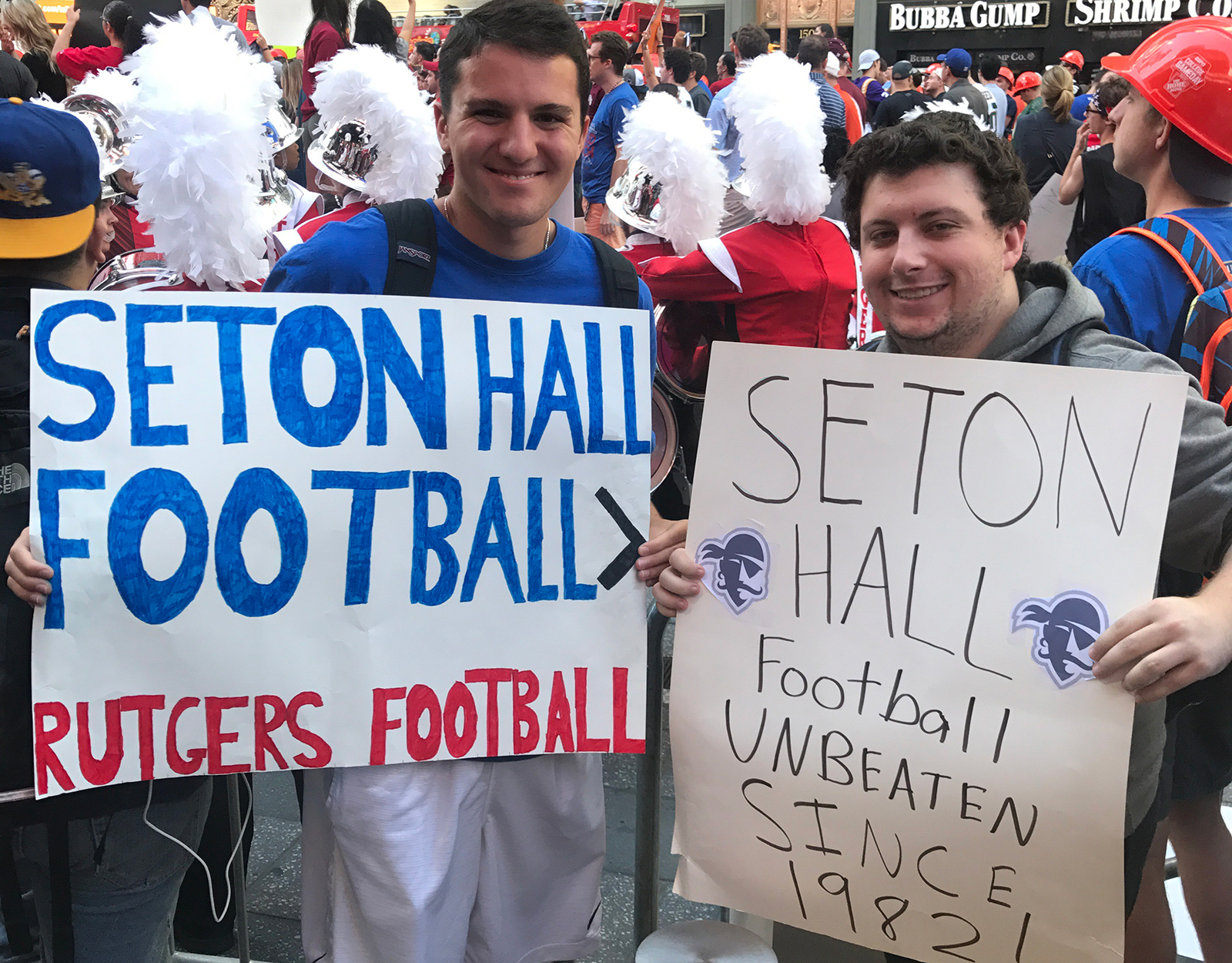 Seton Hall fans made their presence felt at GameDay