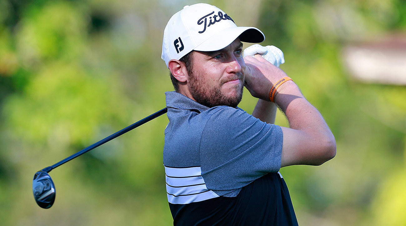 Matthew Southgate had some rough luck on Sunday.