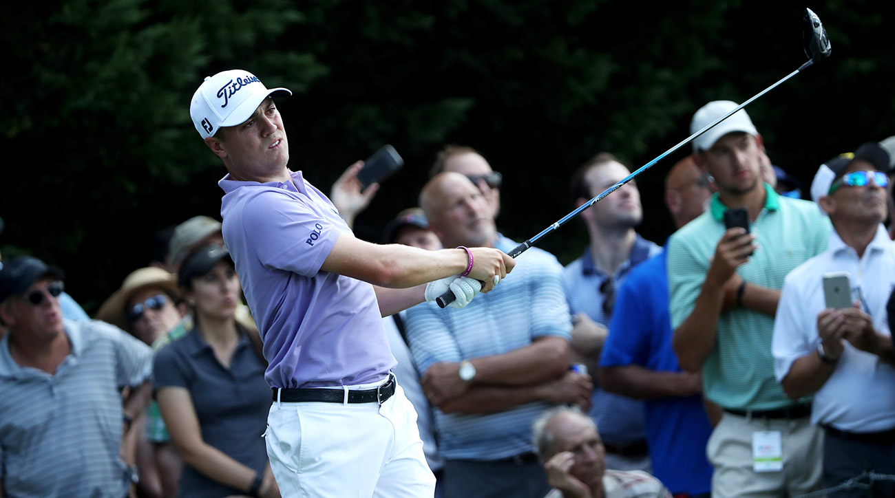 Justin Thomas didn't win the Tour Championship, but he still finished high enough to claim the FedEx Cup title.