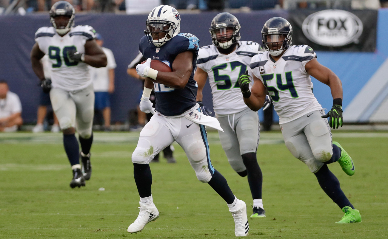 The Seahawks defense spent most of Sunday trailing in pursuit of DeMarco Murray and the Titans offense.