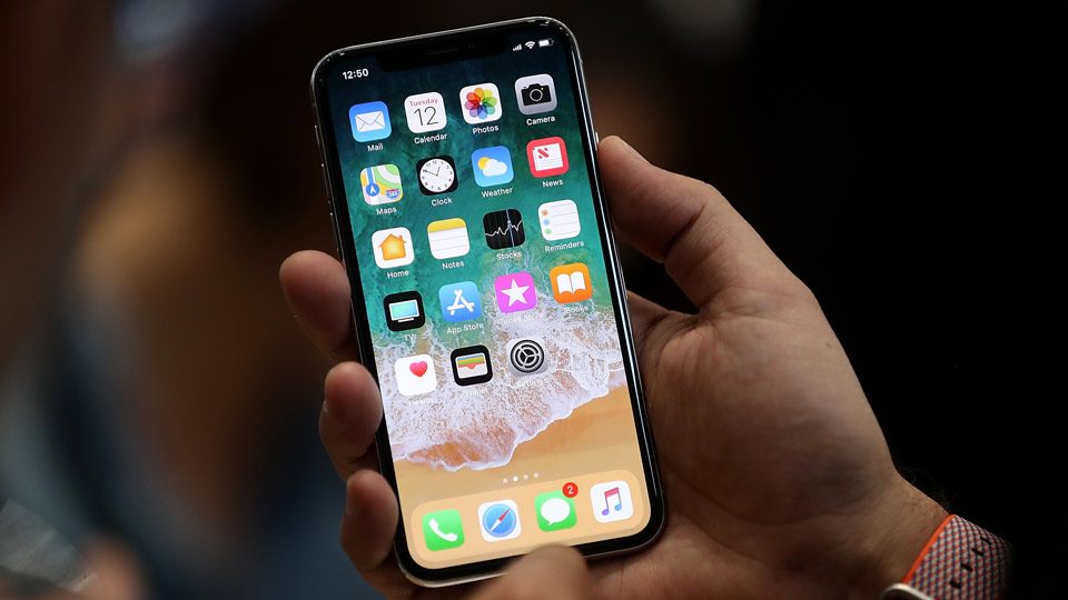 The new iPhone X has plenty of practical benefits for golfers.