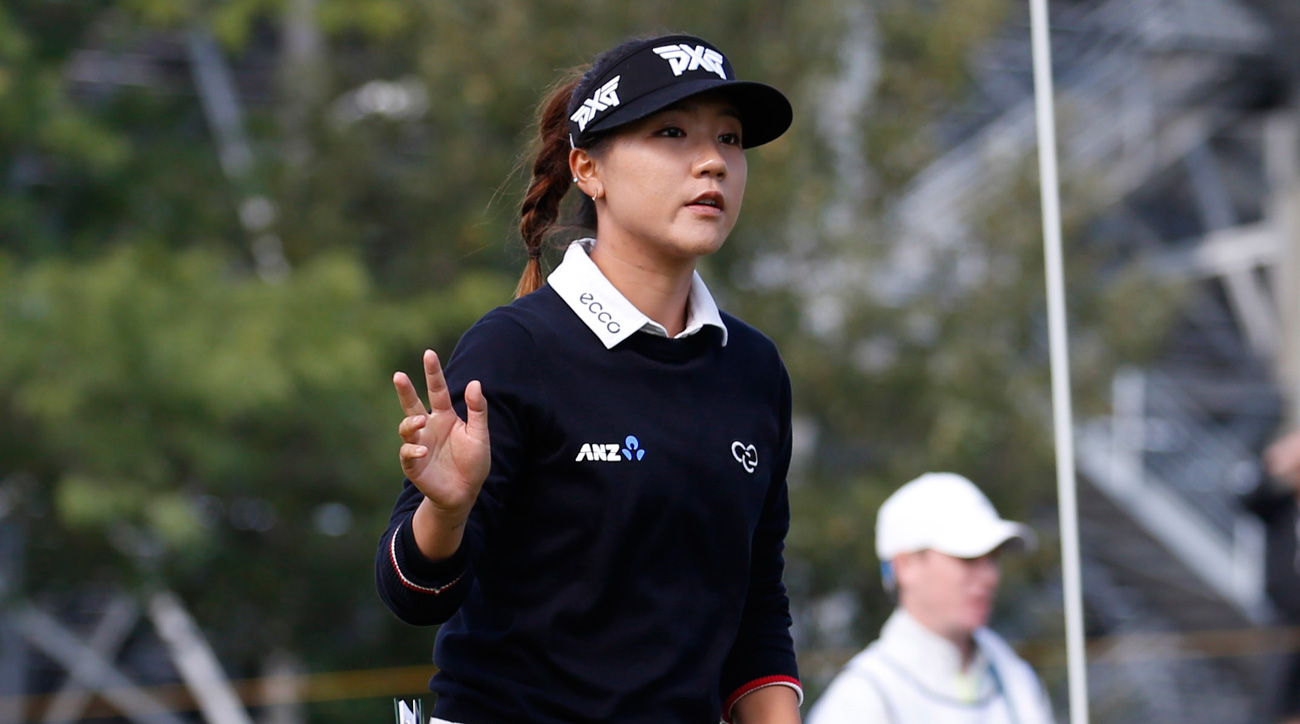 Lydia Ko during the final round of the 2017 Indy Women In Tech. Ko has quickly become a leading figure in New Zealand sports