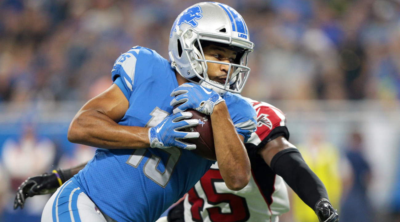 Golden Tate and the Lions have a 22-point scoring differential through three games, second highest in the NFC.
