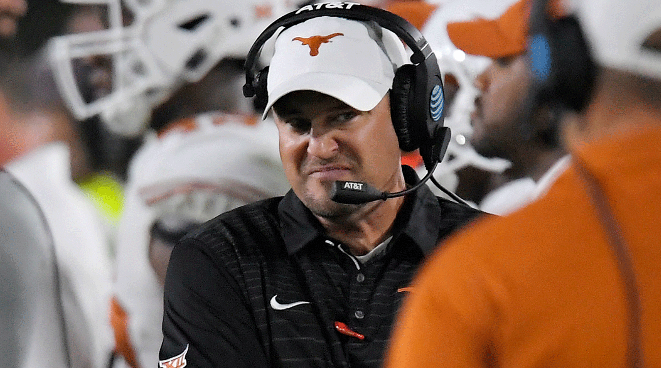 Texas Vs Iowa State Tom Herman Longhorns Have Much To