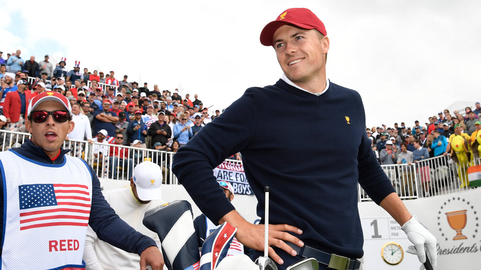 It's been a very good week for Jordan Spieth and the rest of Team USA at Liberty National.