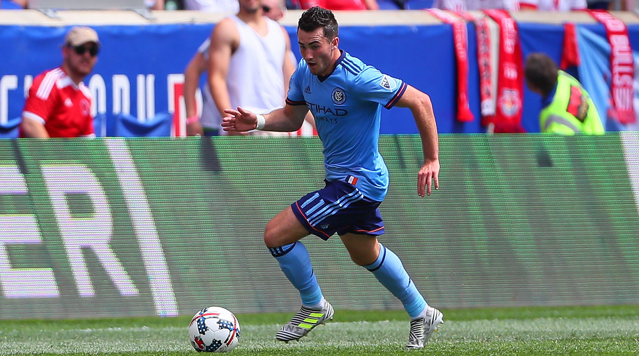 NYCFC's Jack Harrison Called Up for England U21 Squad